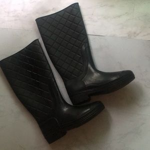 Shoes - 2 for $20/ quilted rain boots